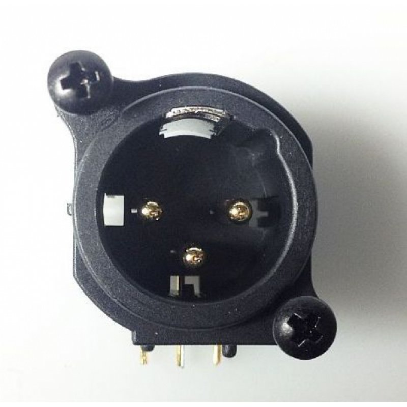 Xlr Male Connector  1 00
