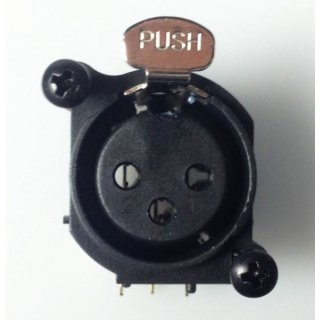 XLR female connector